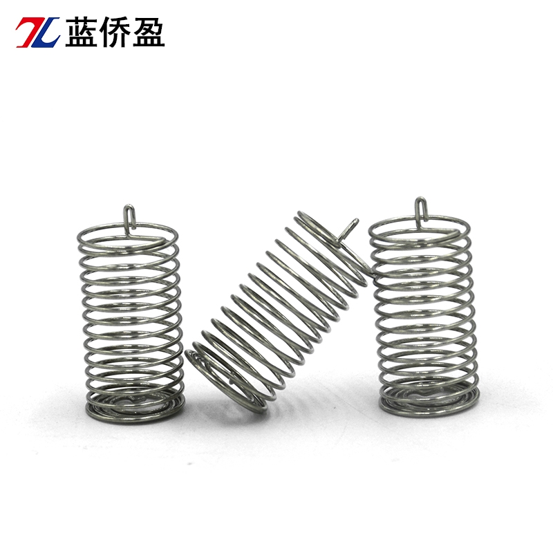 Cylindrical single head touch spring